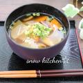 食物繊維たっぷり☆おから汁&春色の素麺♪