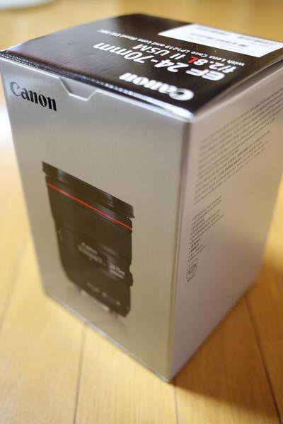 憧れの「Lレンズ」Canon(キャノン) EF24-70mm F2.8L II USM