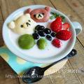 ココナッツ♥お豆腐白玉ぜんざい♥リラックマの漢汁祭