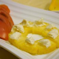【うちレシピ】カットパイナップルのクリームチーズのせ / 【参加中】口どけなめらか♪クリームチーズレシピコンテスト