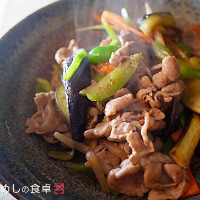 豚肉と茄子の炒め物