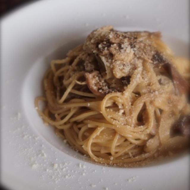 《レシピ》ポルチーニ茸のクリームスパゲティー