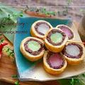 食パンと市販の三色団子で『簡単和菓子』&ピエールエルメのアイス