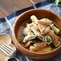 【レシピ・作り置き・副菜】レンジで簡単!ズッキーニと蒸し鶏のピリ辛和え