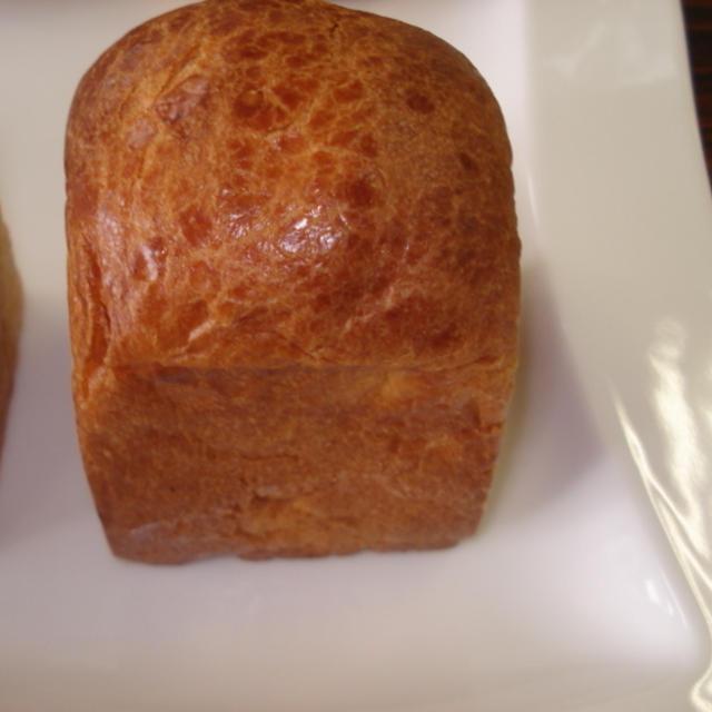 ホームベーカリーで作るバターハニーブレッド