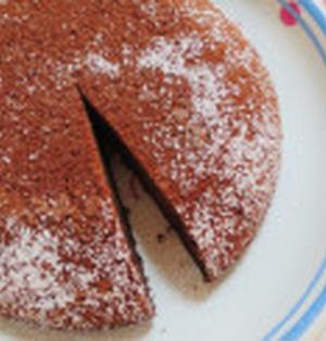 簡単☆炊飯器でヨーグルトチョコケーキ作り