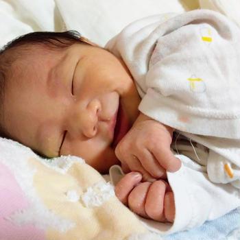 産まれました。