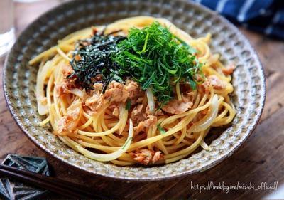 ♡簡単お手軽♡ツナのにんにく醤油パスタ♡【#麺#簡単レシピ#時短#節約】