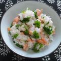 菜の花と鮭の混ぜご飯 by outra_praiaさん