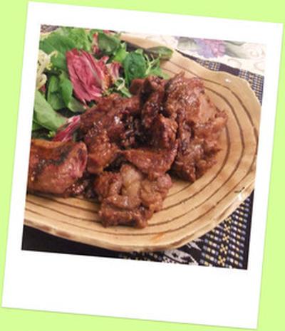 ショートリブ焼肉とチャプチェ☆