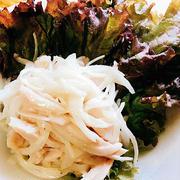 サラダチキンと玉ねぎのサラダ