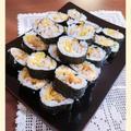 【白身魚のフライde太巻き】ナマモノNG子供も食べれる!!節分ごはん