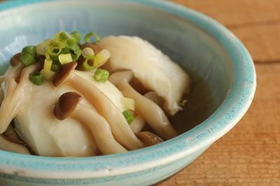 麺つゆで簡単!豆腐のきのこあんかけ