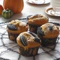 ハロウィンに☆ かぼちゃと胡桃のオレオマフィン・・・掲載していただきました♪