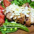 <鶏肉の柚子こしょう焼き ぽんネギソース(塩麹)> by はらぺこ準Jun(はーい♪にゃん太のママ改め)さん