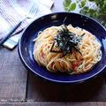 たらこ(明太子)スパゲティー♡【#簡単レシピ#パスタ】
