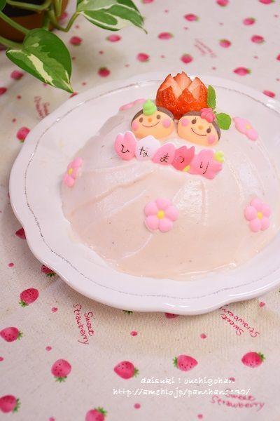 簡単!ボウルで作るおひなさまミニケーキ