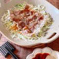 【レシピ】包丁いらず!レンジで3分☆簡単豚しゃぶサラダ