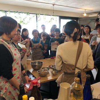 大阪Raw8さんにて自然栽培野菜を使った料理教室を開催しました