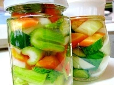 ミックス野菜のピクルスで疲労回復