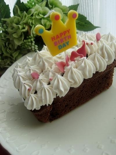 お手軽マリームクリーム板チョコパウンドケーキ