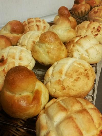 米粉 ノングルテン 成型パン 講習会と、米粉メロンパン ノンエッグブリオッシュ