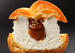 ネット生まれの「黄金のミルクシュー」は、濃厚ミルククリーム・2層のキャラメル・柔らかなシュー生地・香...