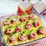 【簡単!おもてなしメニュー】ひな祭りにお勧め♪スコップお花寿司