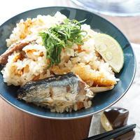 1品満足☆秋刀魚の炊き込みご飯【レシピ】