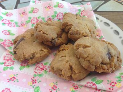 ココナッツオイルとバナナチップのザクザククッキー