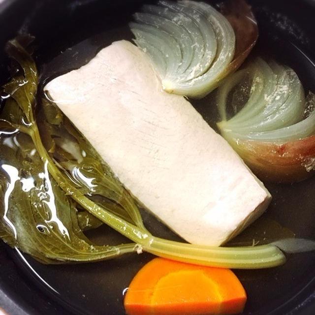 【レシピ】お家で手作りシーチキン?!