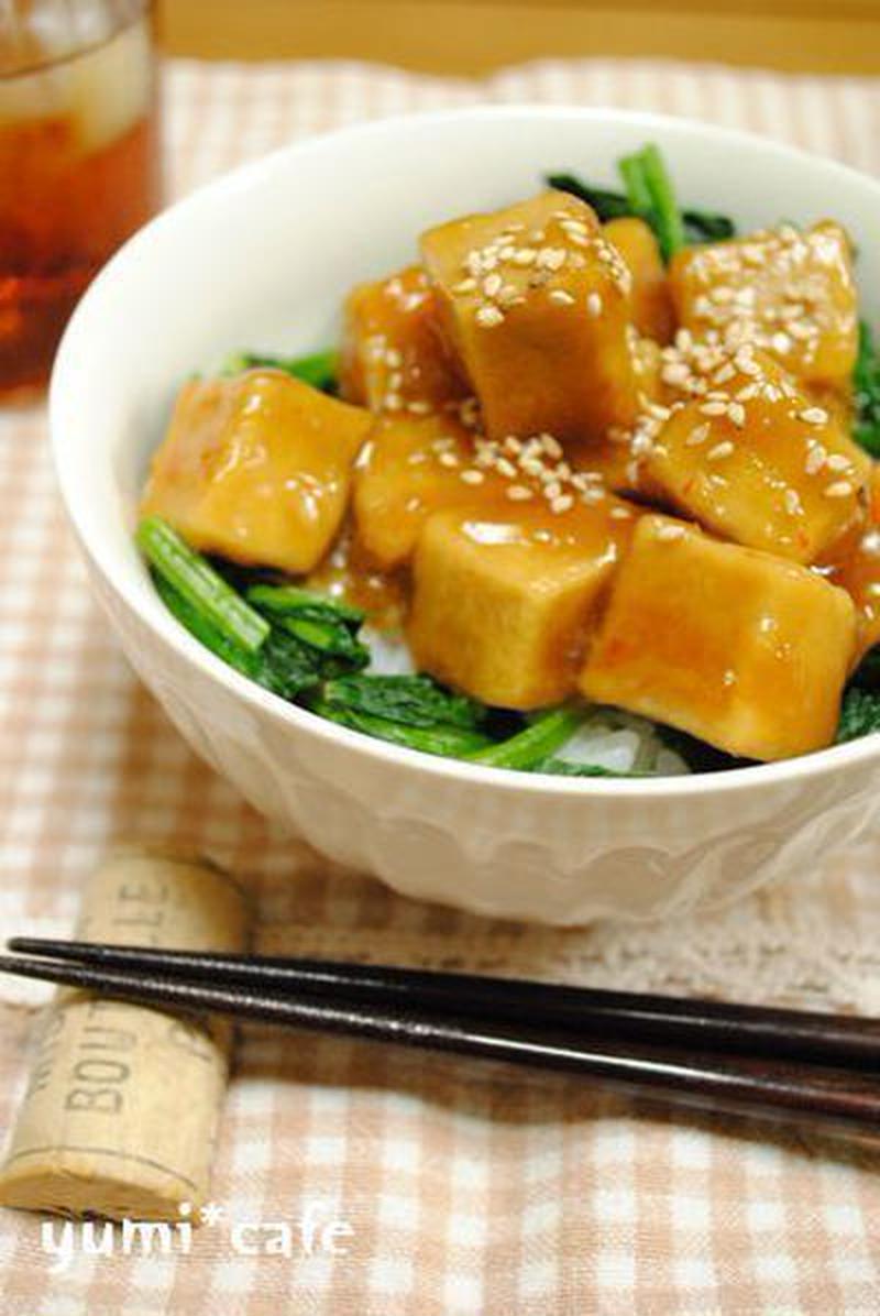「高野豆腐」は丼に使ってもおいしかった!アイデアレシピ5選