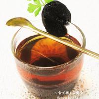 体の芯から温まる★プルーンハニー・ホットティー★紅茶もプルーンも優しくほっと。