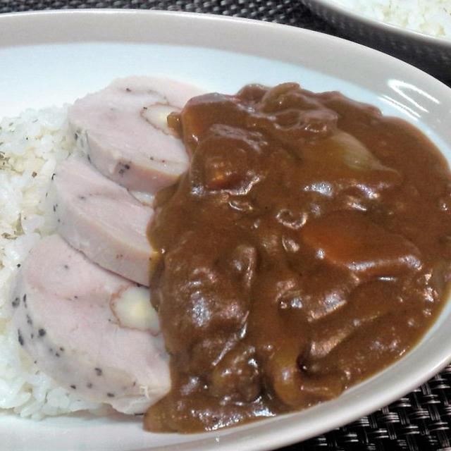 【レシピ】冷凍保存で便利!鶏ハム活用レシピ! 鶏ハムdeカレー(^^♪