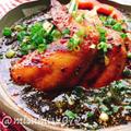 もずくを麺代わりに☆唐辛子塩麹でピリ辛ラーメン風 by Misuzuさん