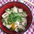 漬け豆腐丼