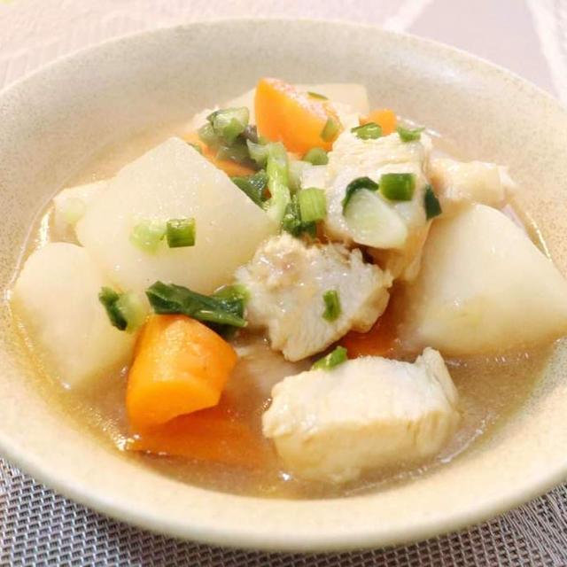 鶏胸肉と大根のポン酢煮|レシピ・作り方