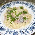 デイリー・レシピ~オレキエッテとパストラミのパスタ、生クリーム・ソース #R073