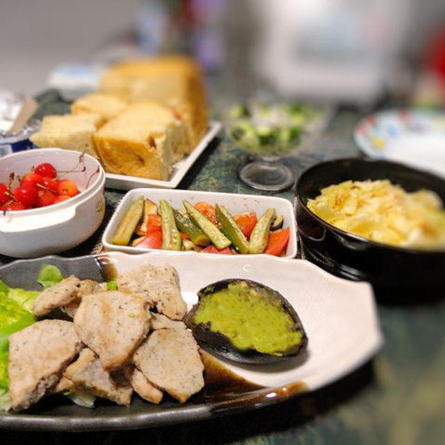 6月16日☆トースターで主菜1品+副菜2品☆相変わらずの簡単料理☆新生姜のレシピも2品の全8品