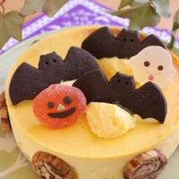 決めてはアレ!かぼちゃのNYチーズケーキ♪