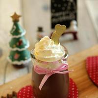 * クリスマスに簡単チョコプリン♪