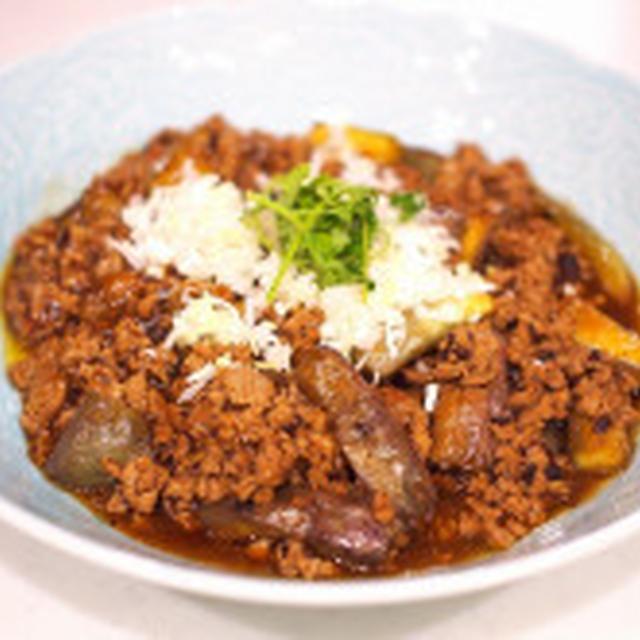 ナス料理の定番「麻婆茄子」