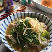 5分でできちゃう食べる春雨トムヤムクンスープ