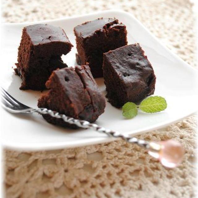 ワンボール&ルクエで*濃厚チョコのスチームケーキ