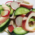 ボイルイカときゅうりの麺つゆオイルサラダ