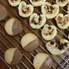 ハートのシナモンチョコナッツパイ