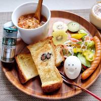 GABANスパイス スイートバジルで作るキャベツたっぷり朝食べスープ