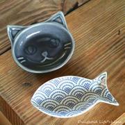 セリアの猫皿に悶絶♡