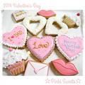 バレンタインアイシングクッキー♡2014 by ☆PinkiSweets☆ズボラレシピ研究所さん