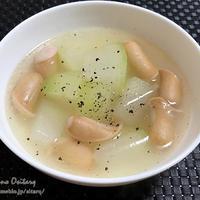 冬瓜のスープ〜岡山から白桃〜